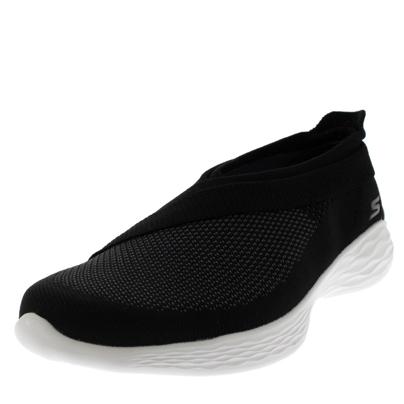 Womens Skechers You Luxe Lightweight Flexible Memory Foam Yoga Trainers UK 3-8