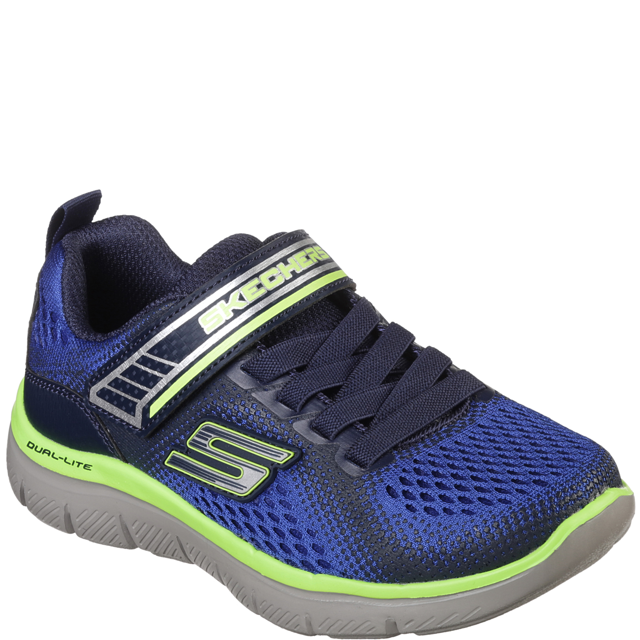 Kids Boys Skechers Flex Advantage 2.0 Geo Blast
