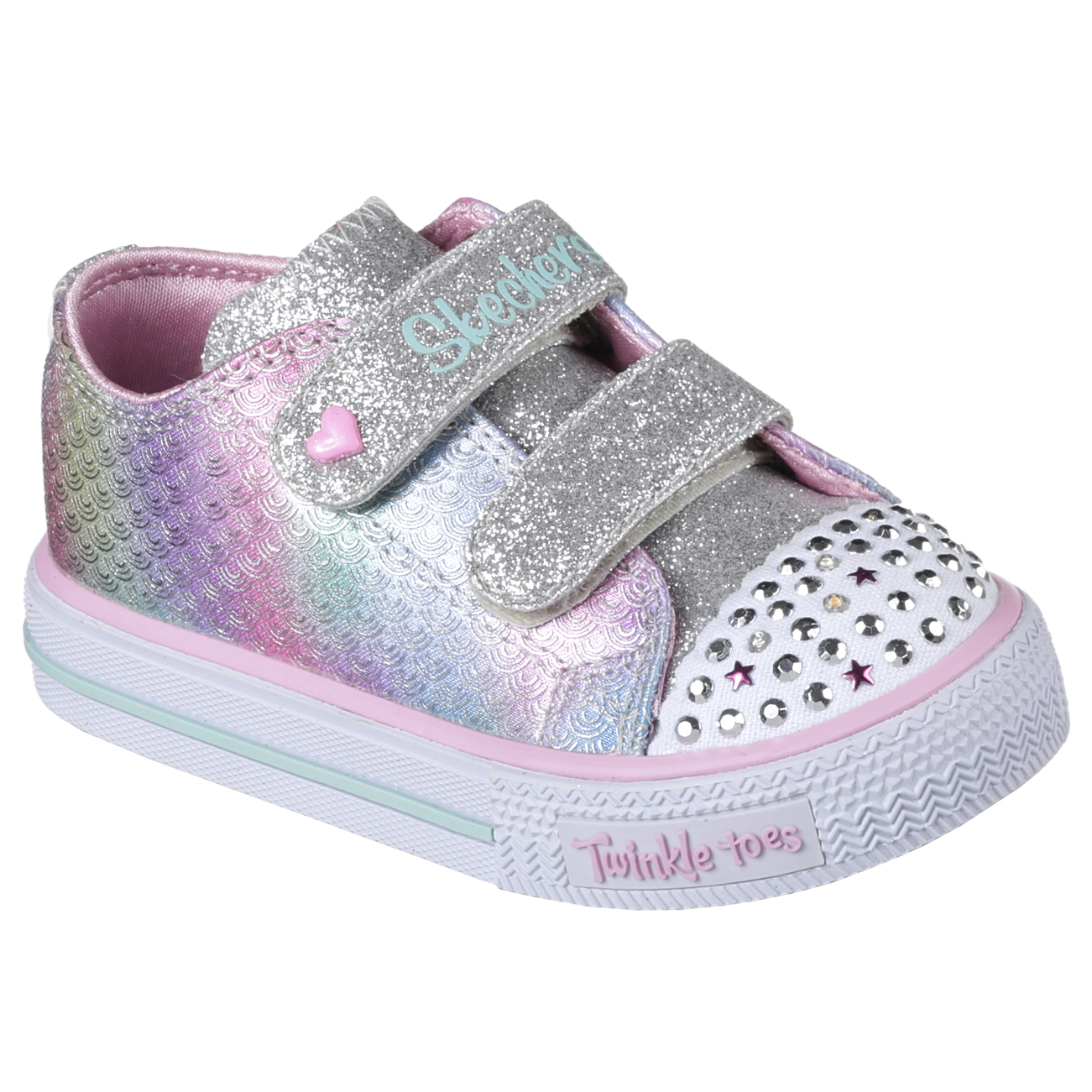 Kids Girls Infant Skechers Twinkle Toes Shuffled Ms. Mermaid