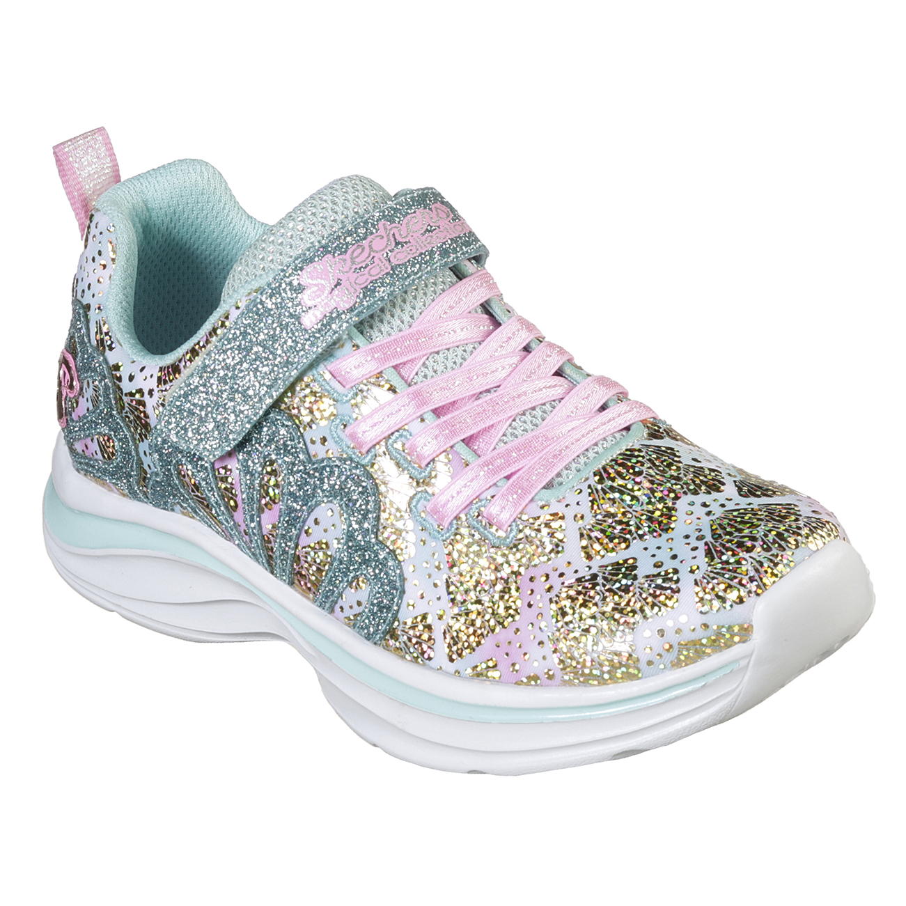 Kids Girls Skechers Double Dreams Mermaid Music