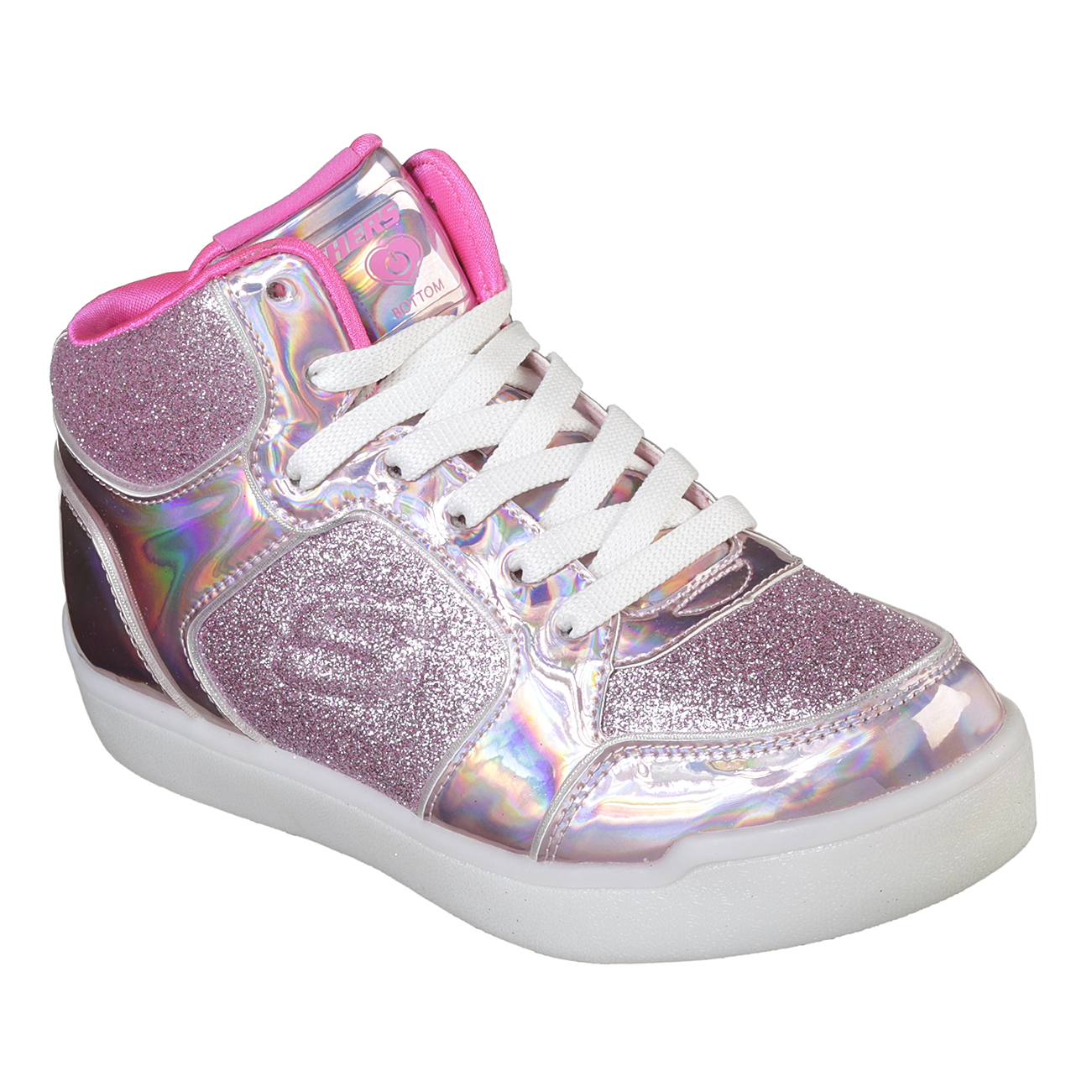 Kids Girls Skechers S Lights Energy Lights Ultra Glitzy Glow