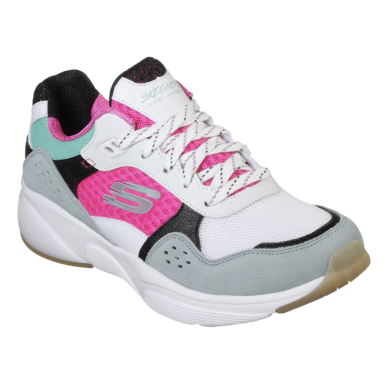 Kids Girls Skechers Meridian Charted