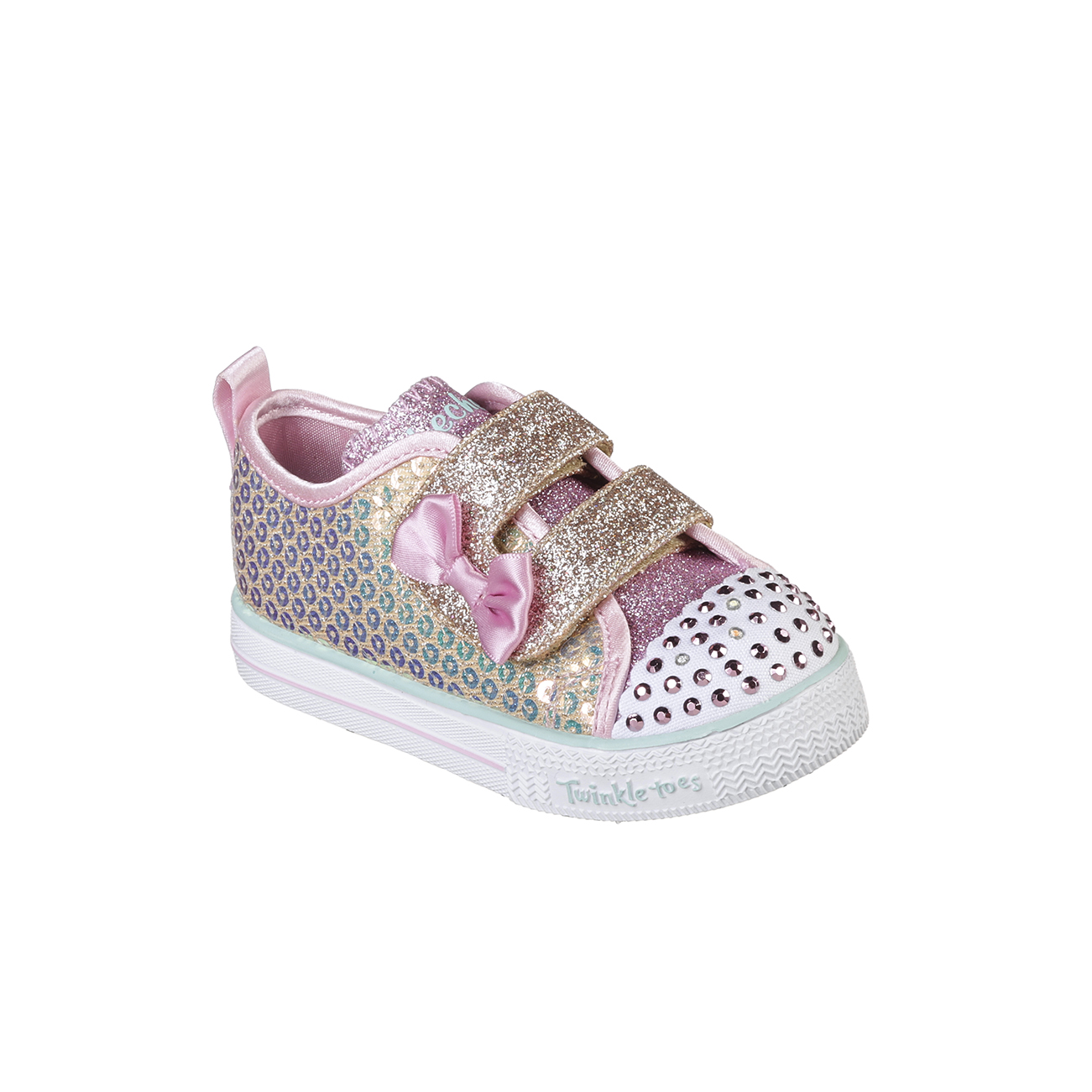 Kids Girls Infants Skechers Suffle Lite Mini Mermaid