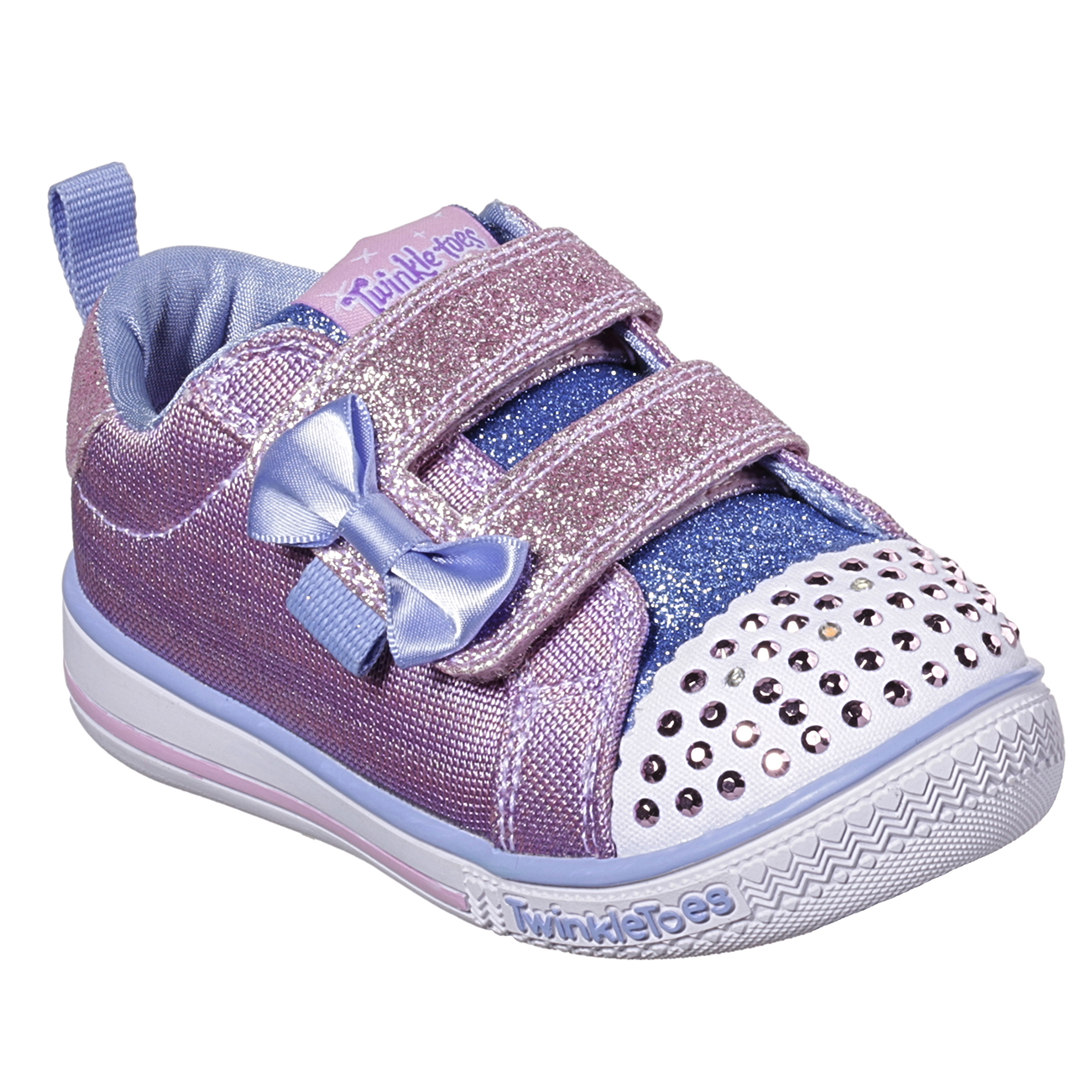 Kids Girls Infants Skechers Twinkle Play Sparkle Printer