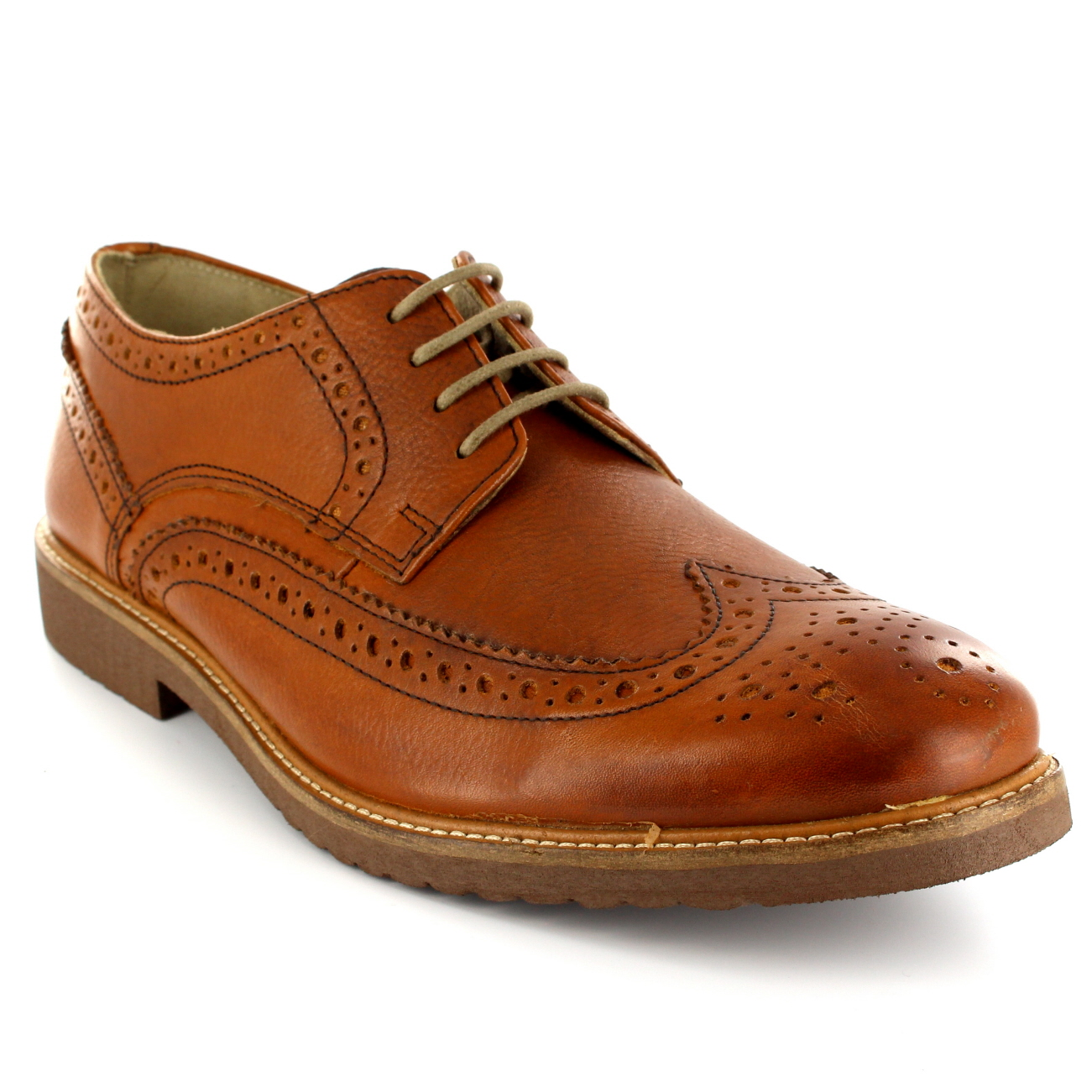 Ikon Almond Brogues