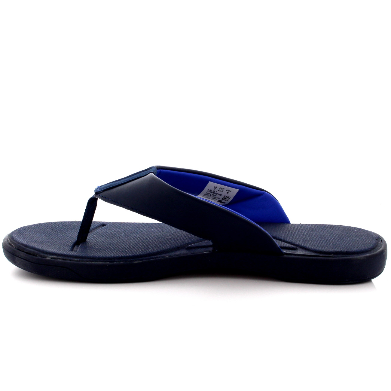 ad7506c7d Mens Lacoste Light.30 116 Beach Pool Leather Holiday Flip Flops ...