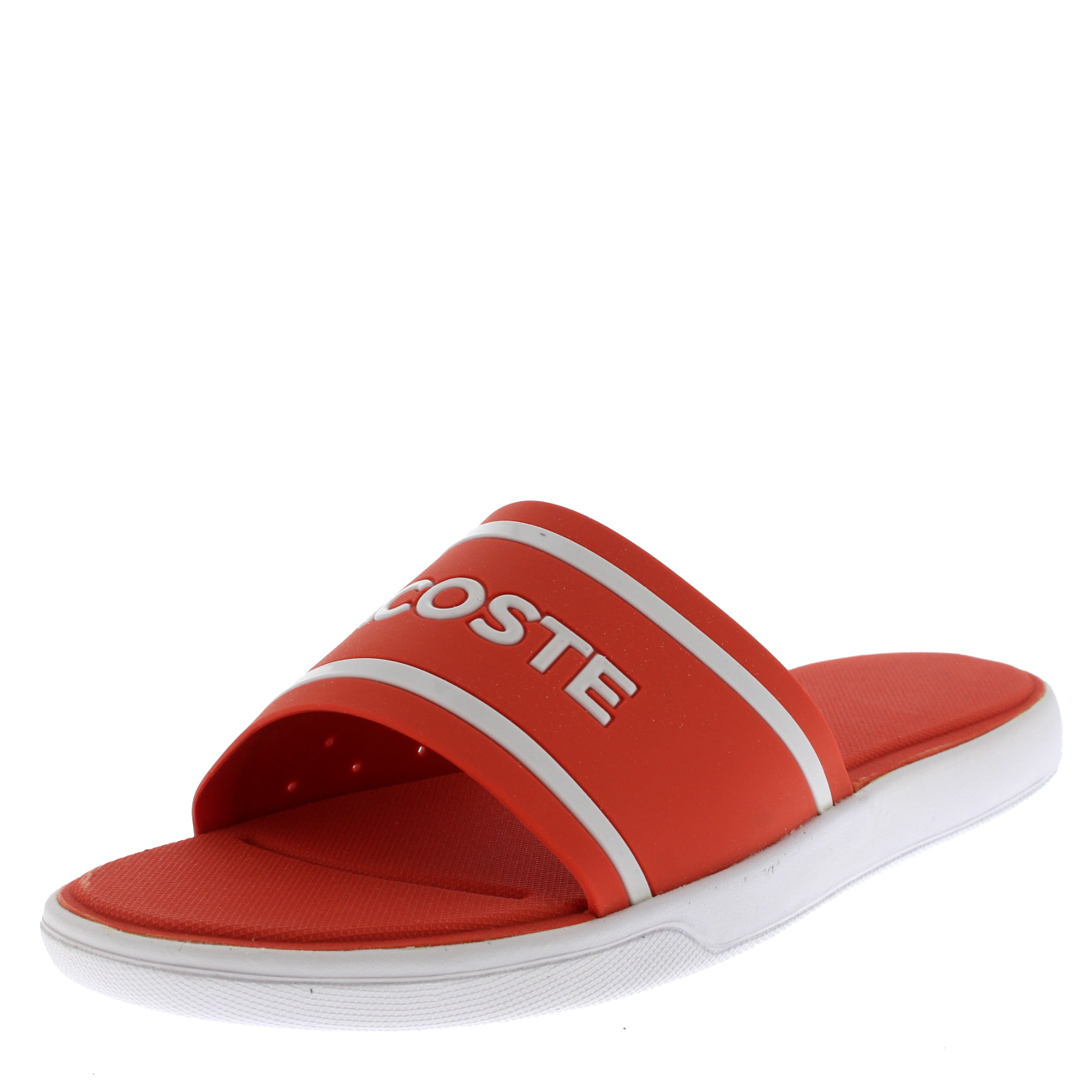 a7005156f6e37e Lacoste L30 Slide 218 1 CAW Pool Beach Sandals in Wide Range Colours ...