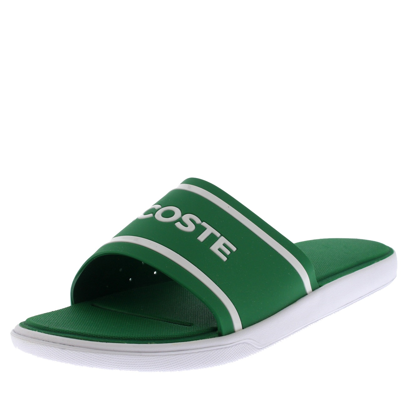 Lacoste Fluro Synthetic L.30 118 2 Slides