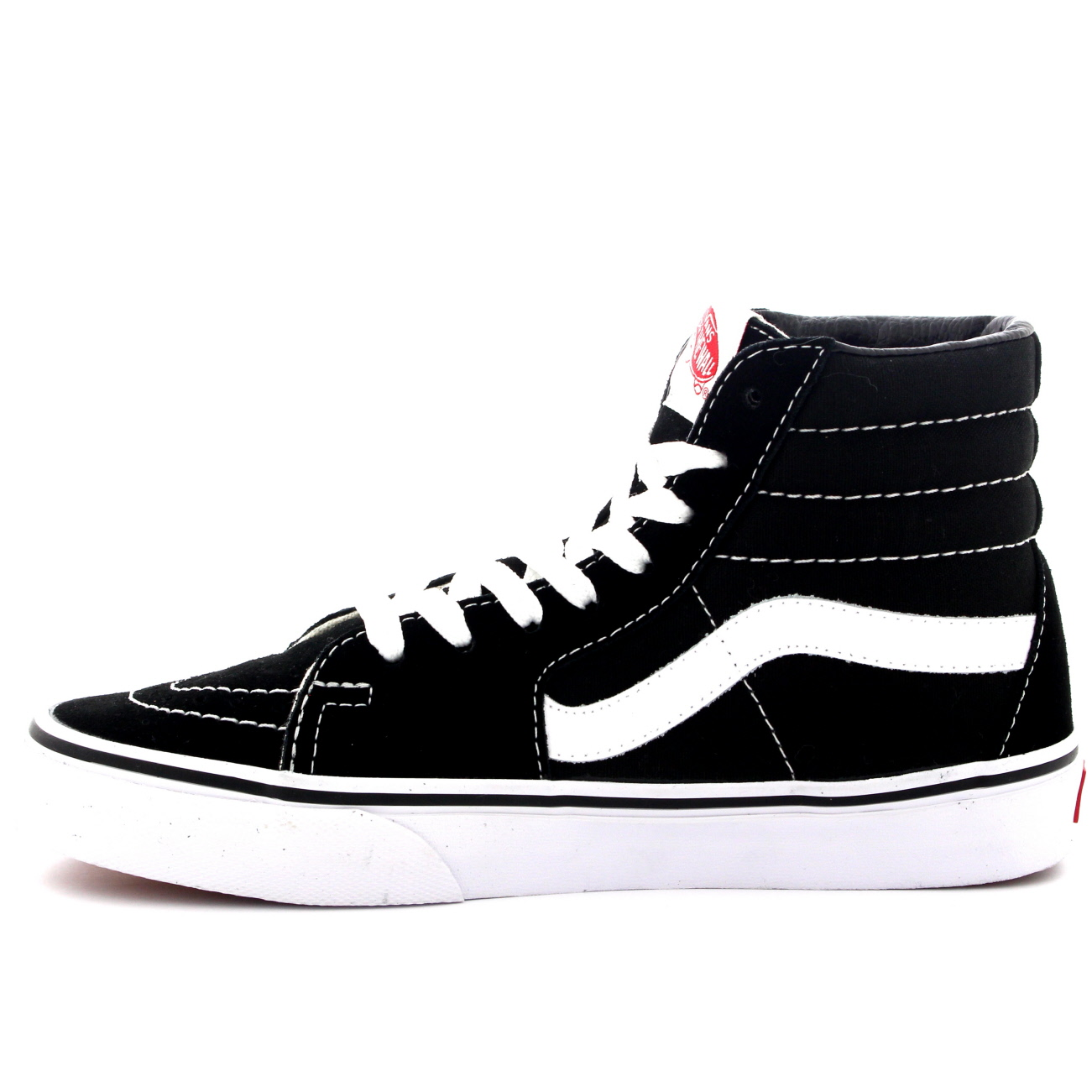 b8c35f7fe5e Unisex Adults Vans Sk8-Hi Lace Up High Top Canvas Skate Shoes ...