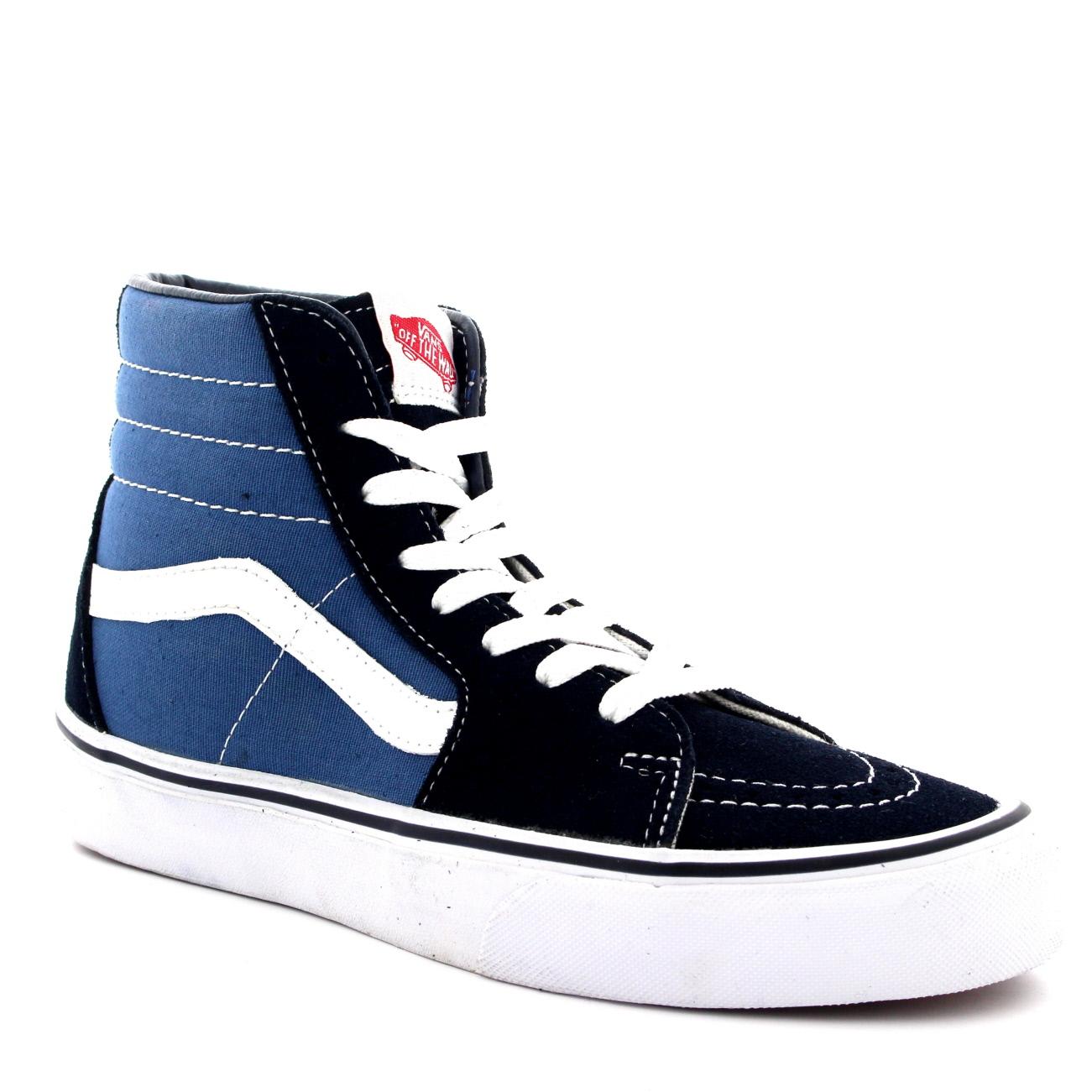 Unisex Adults Vans Sk8-Hi Lace Up High Top Canvas Skate Shoes ... 6858d7031