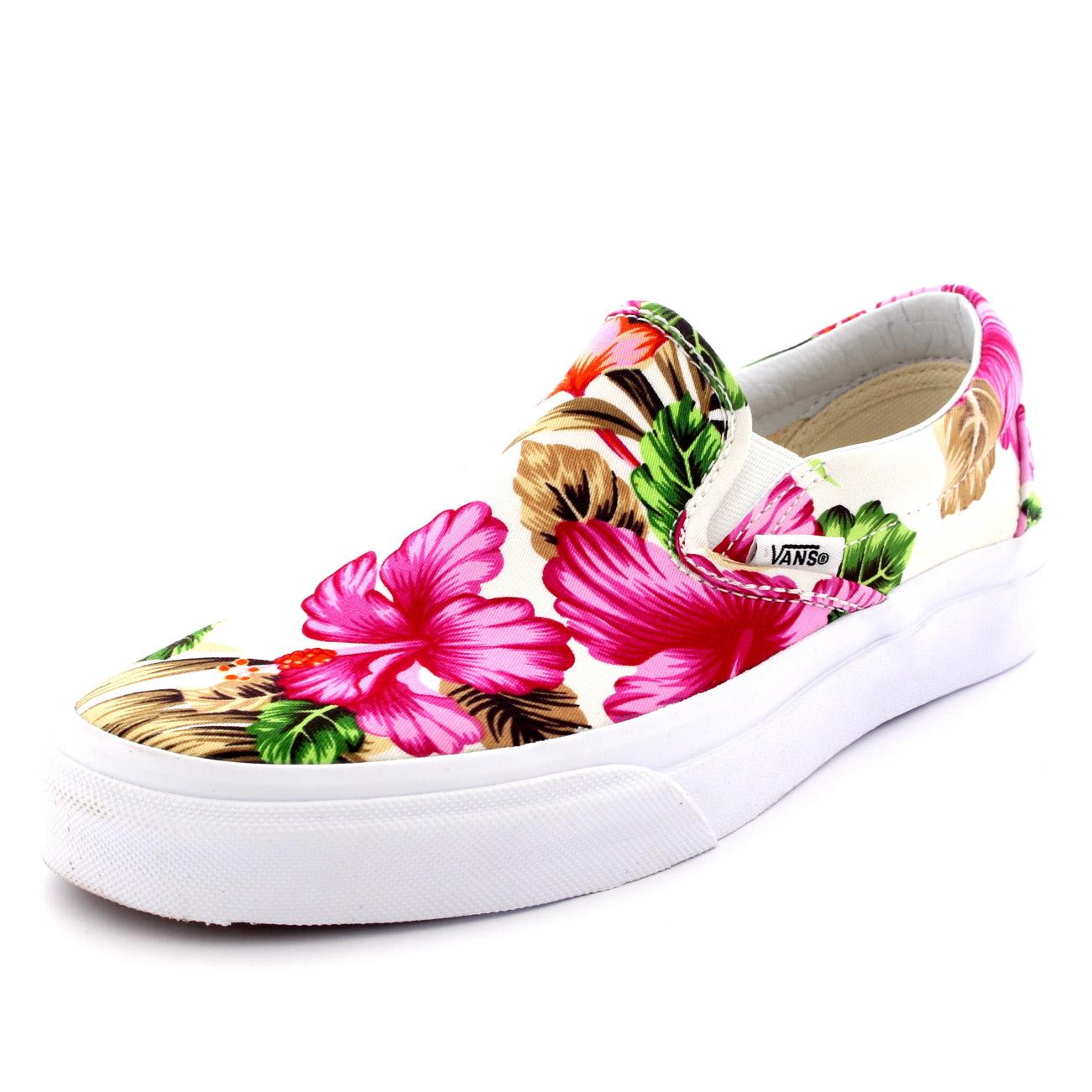 f8bba93d78 Vans Classic Slip On Hawaiian Floral