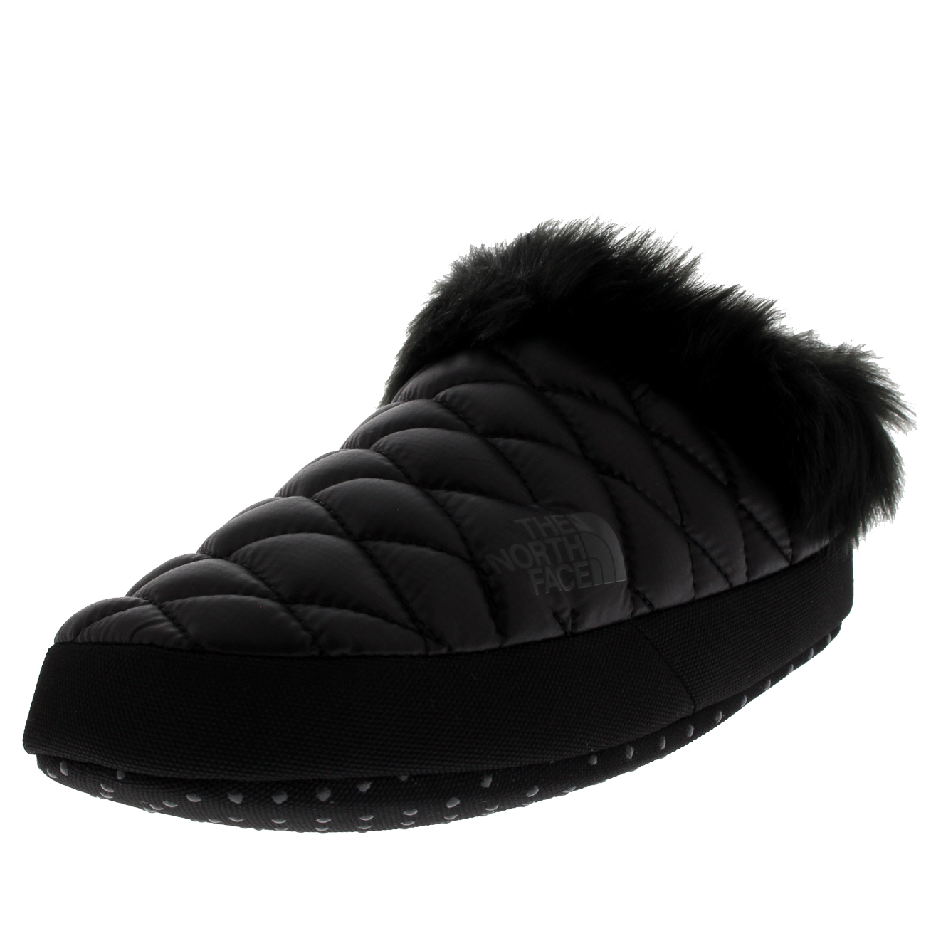 Womens The North Face Thermoball Tent Mule Faux Fur IV Cosy Slippers UK 3-8.5  sc 1 st  eBay & Womens The North Face Thermoball Tent Mule Faux Fur IV Cosy Slippers ...