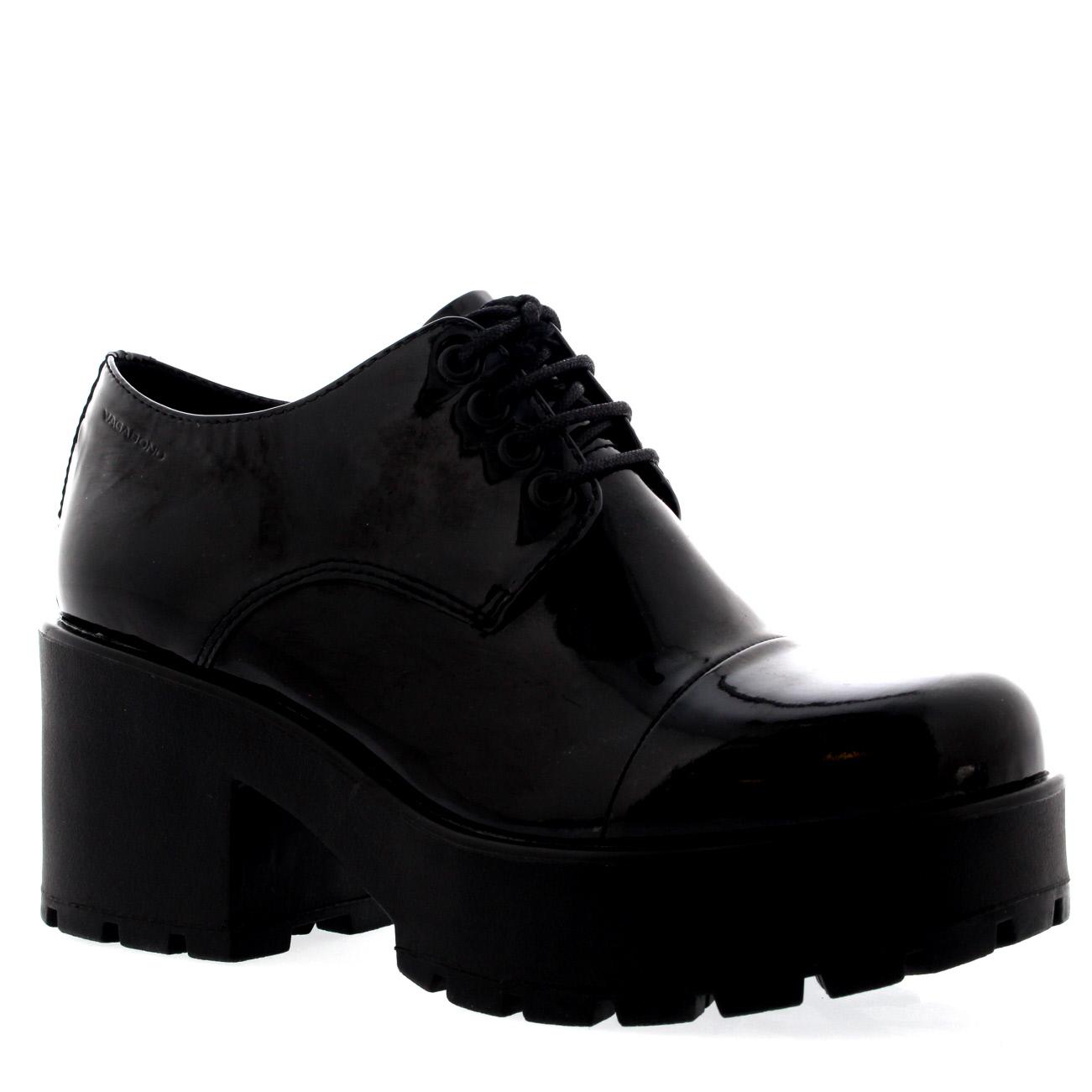 Vagabond Dioon Patent Boots