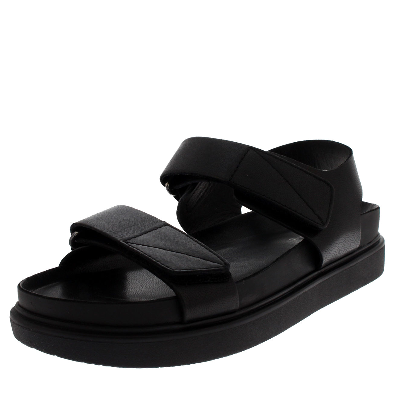 Womens Vagabond Erin Cut Out Sandals Black Sandals
