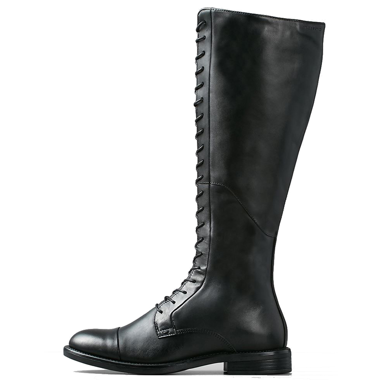 15a7cccafde Womens Vagabond Amina Flat Winter Knee High Smart Leather Black Boots UK  3.5-8