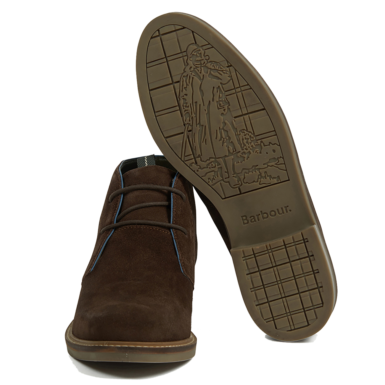 d9e6d38d58b Details about Mens Barbour Readhead Suede Smart Work Office Casual Lace Up  Desert Boot UK 6-12