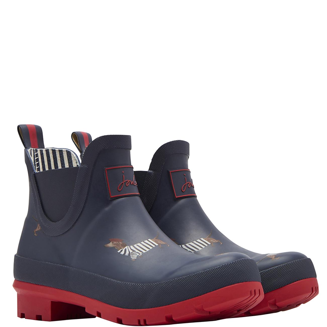 6607b9951d2e Boots Womens Joules Wellibob Rubber Winter Waterproof Wellington Ankle  Boots UK 3-8