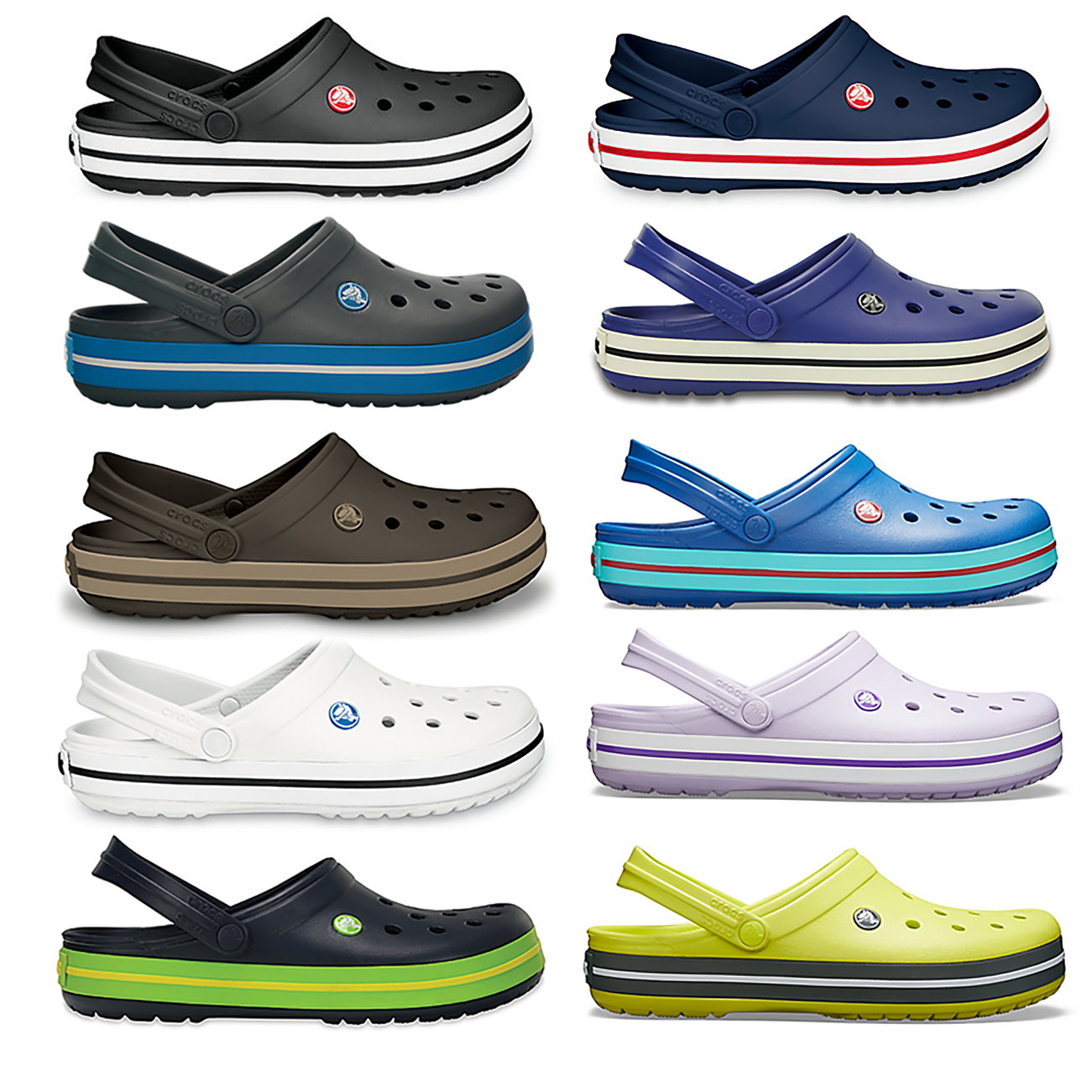 58929275b Image is loading Unisex-Adults-Crocs-Crocband-Clog -Comfort-Lightweight-Water-