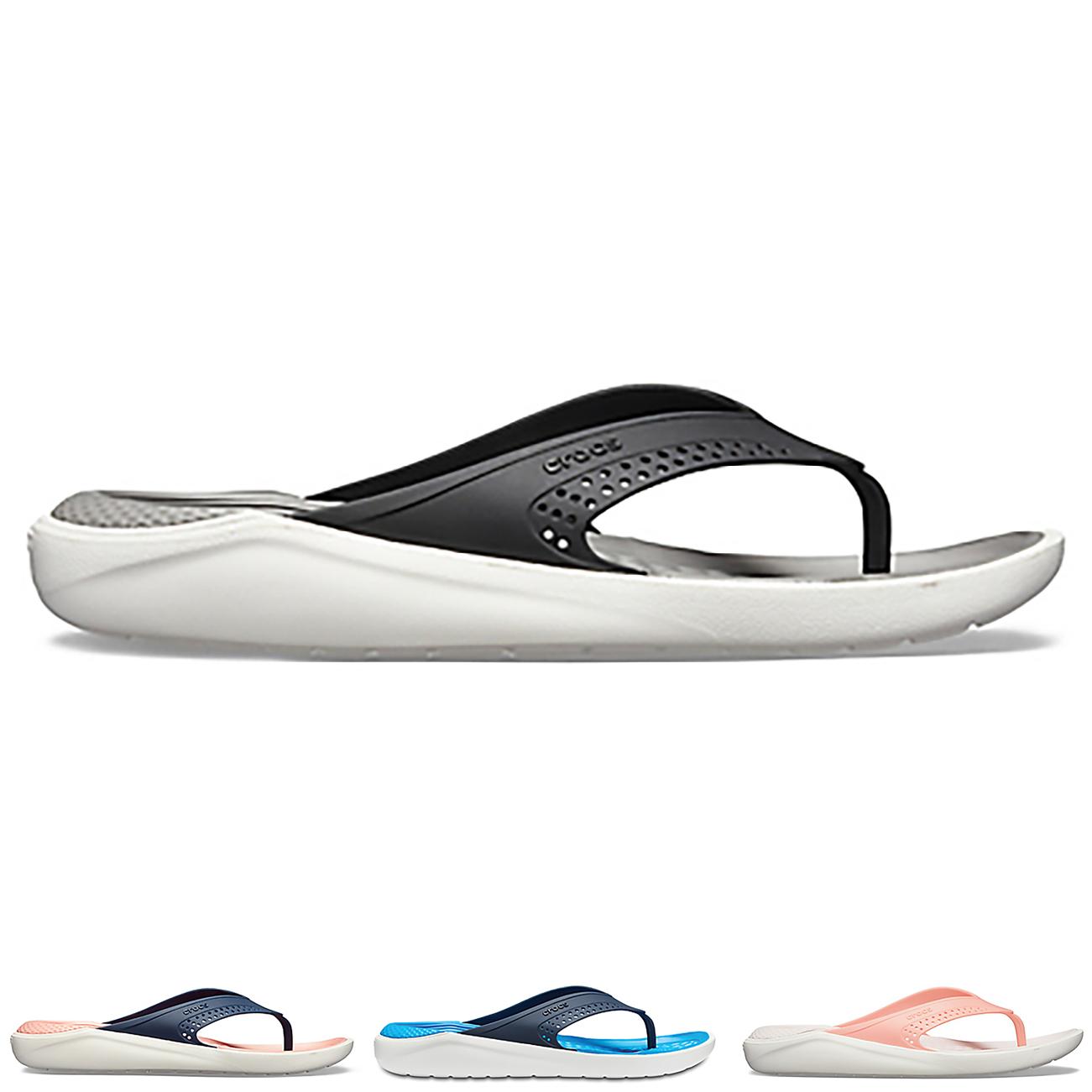 Unisex Adults Crocs LiteRide Flip Beach Lightweight Shower Flip Flops UK 3-16