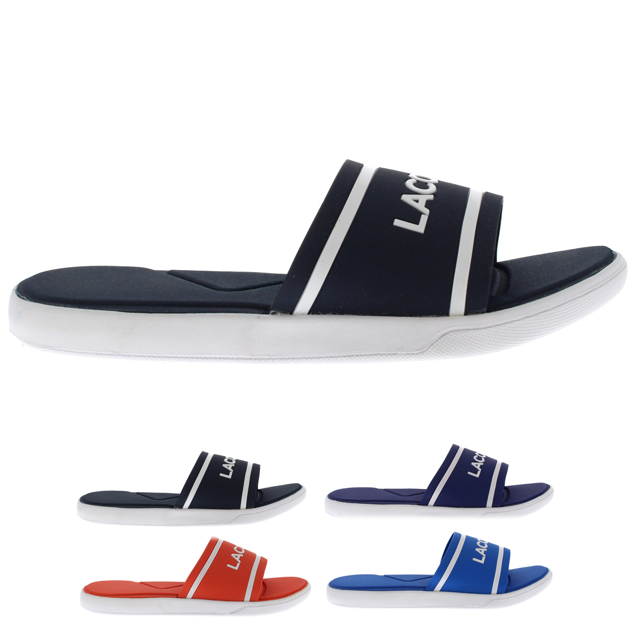 Lacoste Synthetic L.30 Slides
