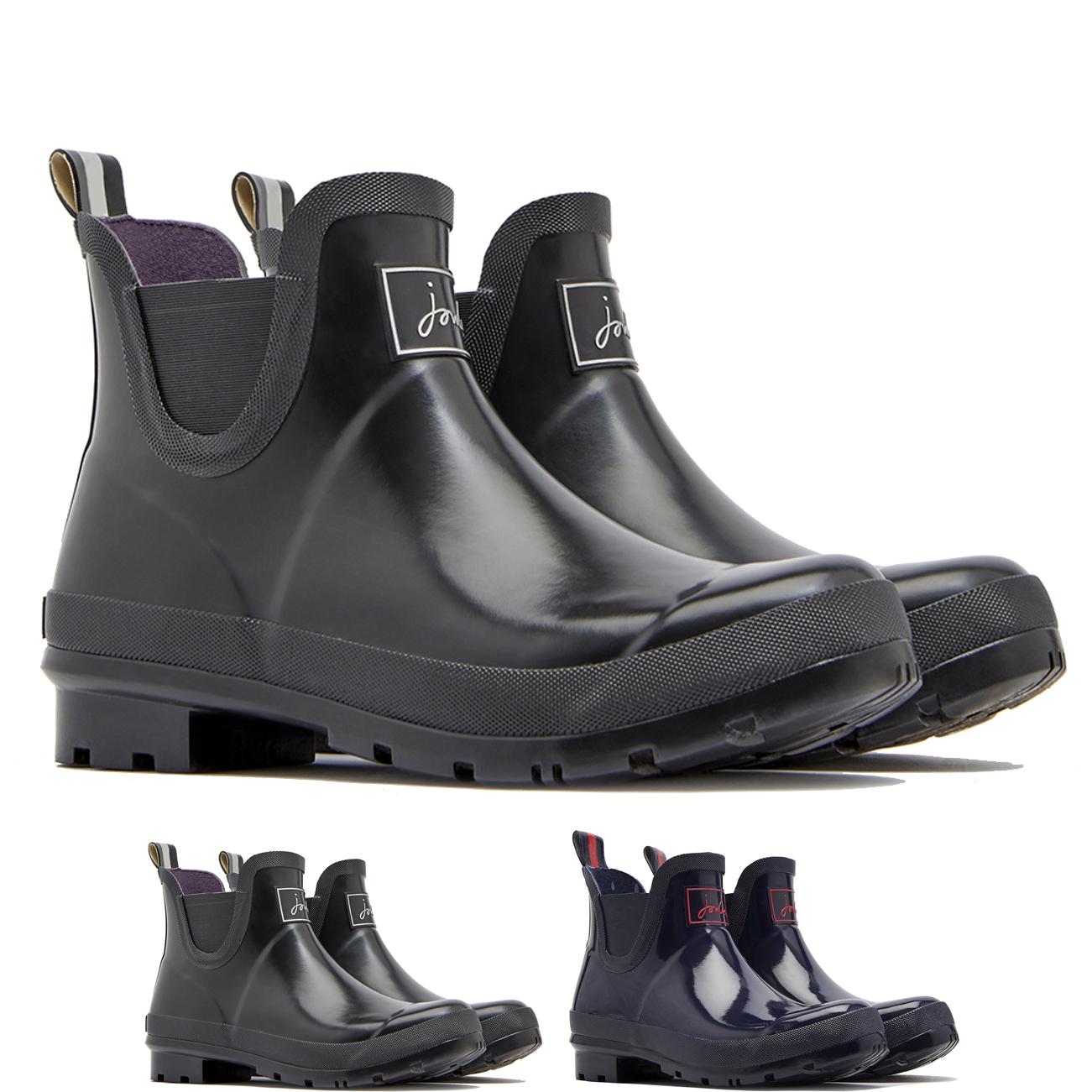 5687c2a74d36 Image is loading Womens-Joules -Wellibobs-Glossy-Waterproof-Rain-Snow-Wellington-