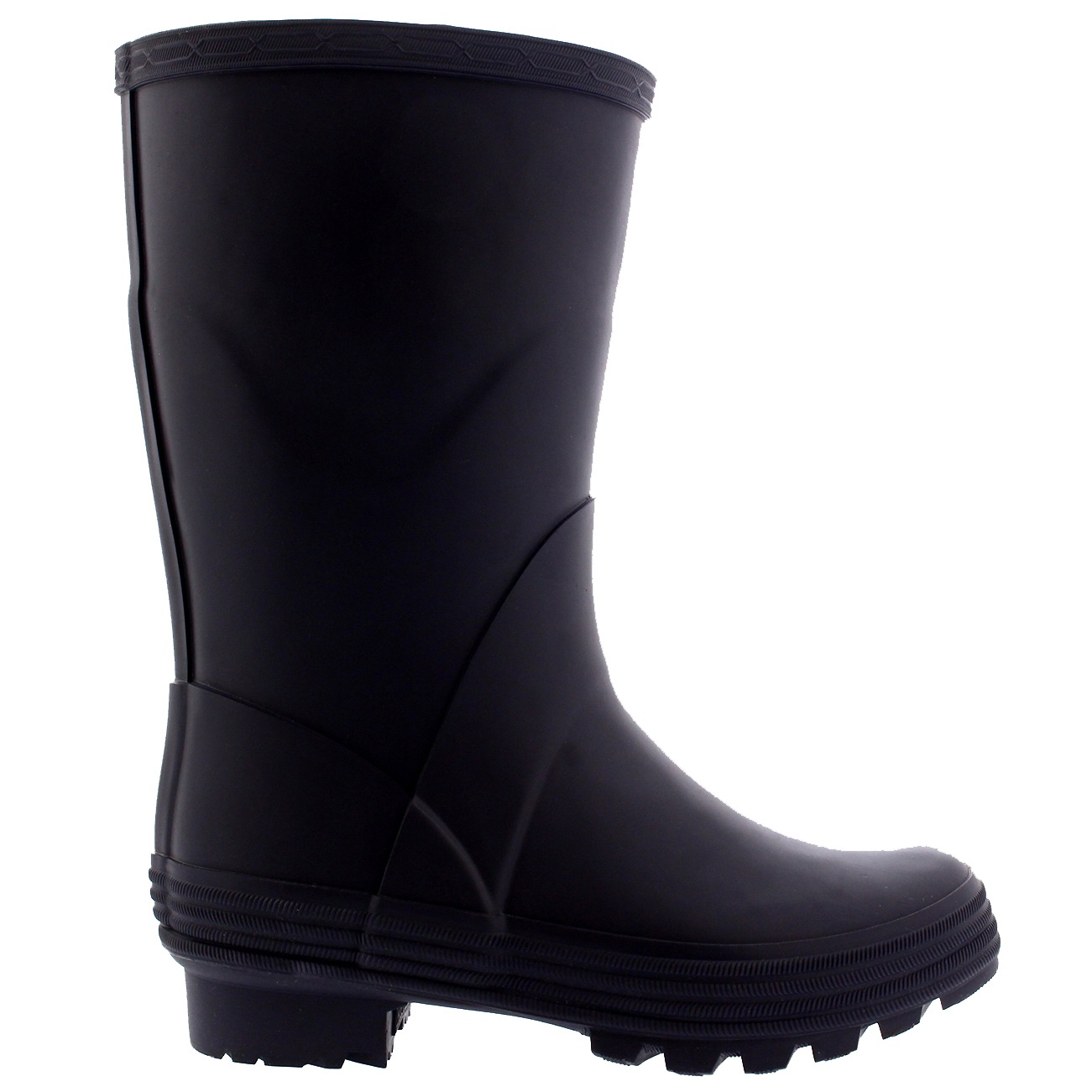 Unisex Kids Waterproof Rain Snow Muck Yard Wellies Long