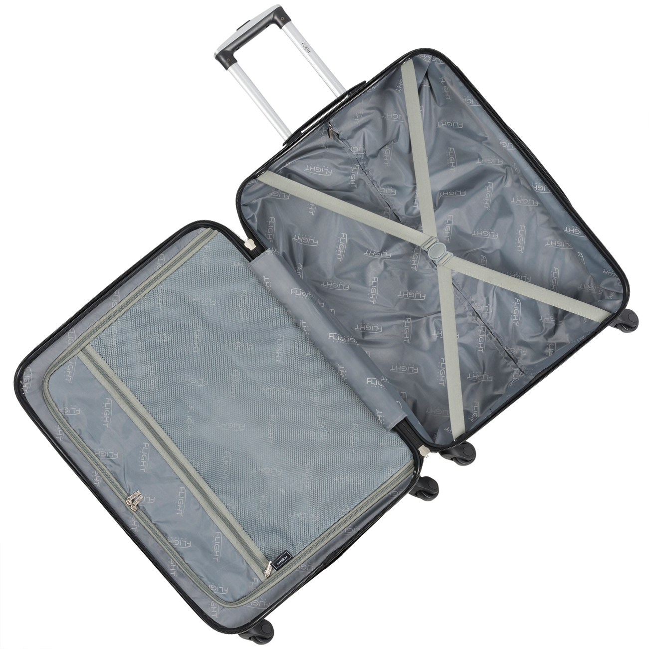 Details about Lightweight Hard Case Cabin Carry On Suitcase Bag Sets Max  Size Virgin Atlantic