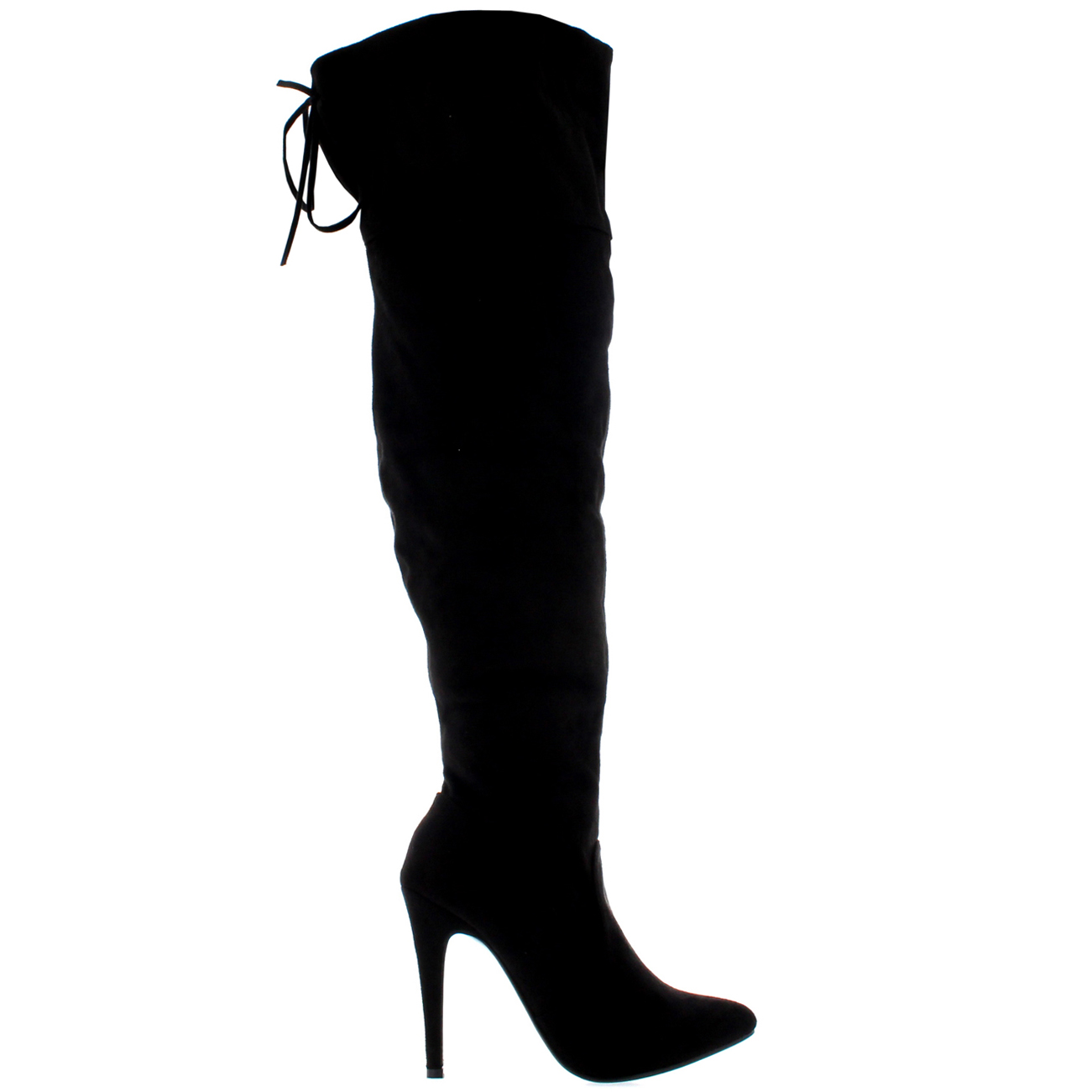 Ladies-Over-the-Knee-Zip-Stretch-Party-Stiletto-Thigh-High-Heels-Boots-All-Sizes