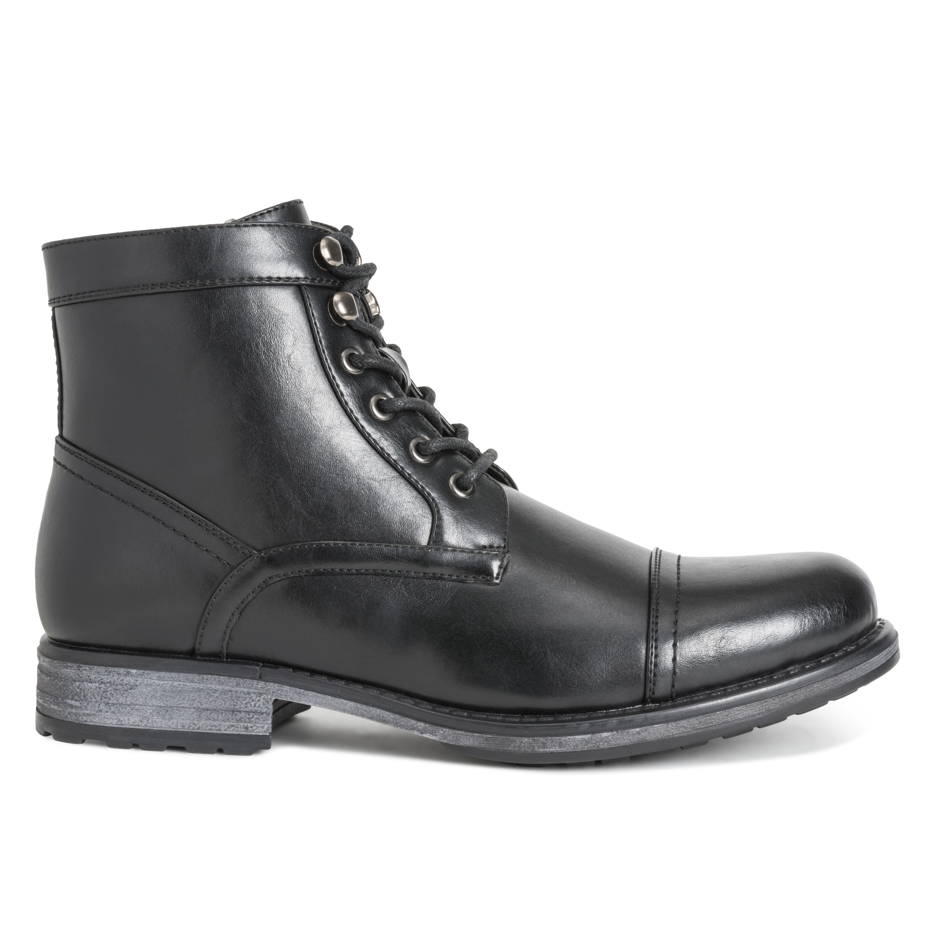 Mens Queensberry Albert Smart Leather Business Work Office Ankle Boots