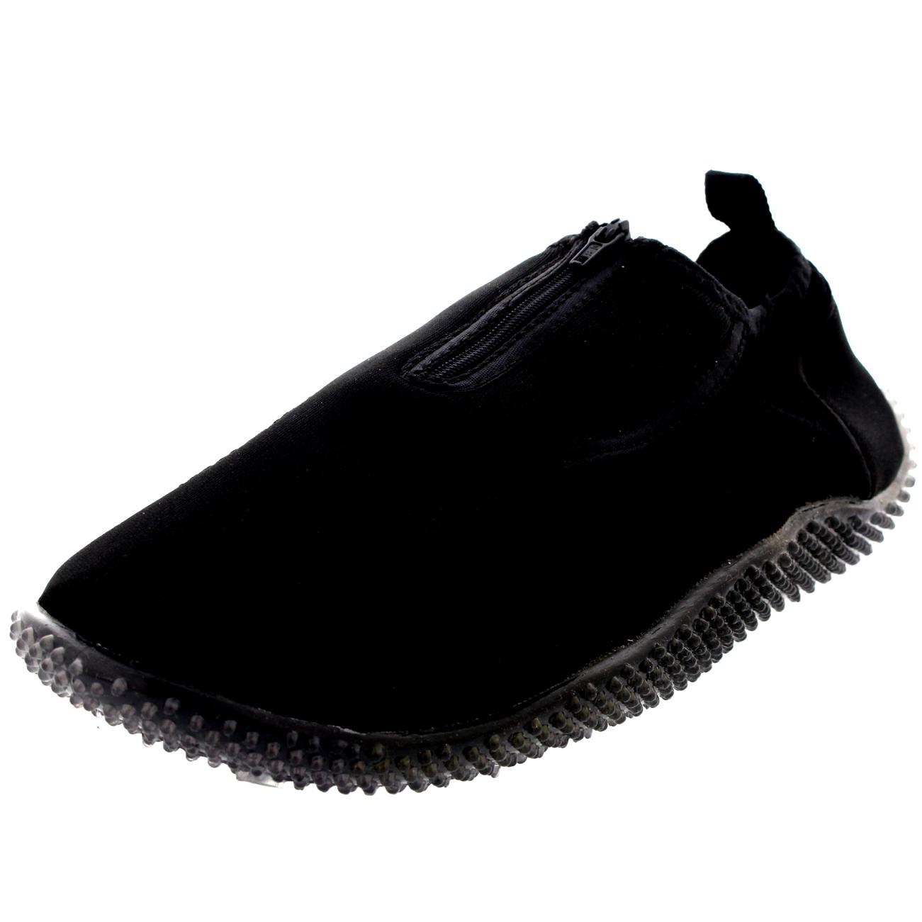 Para Hombre Agua calcetines piscina ejercicio Natación Playa Skin Wet Scuba cremallera Zapatos Todos Los Tamaños