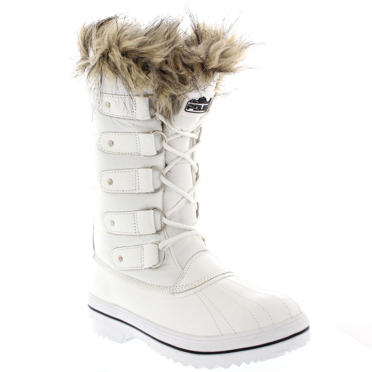 White Furry Snow Boots Women S Shoes