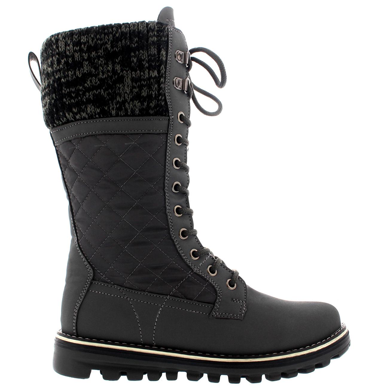 Ladies Waterproof Walking Warm Hiking Snow Rain Winter Mid