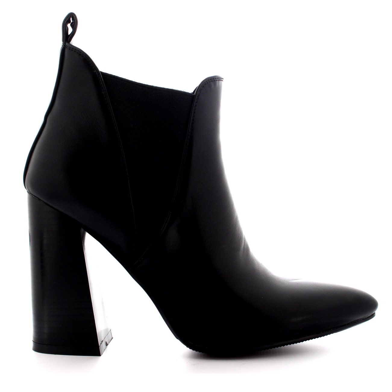 3ff2e7afc02 Details about Ladies Autumn High Heels Pixie Trendy Dress Pointed Toe Ankle  Boots All Sizes