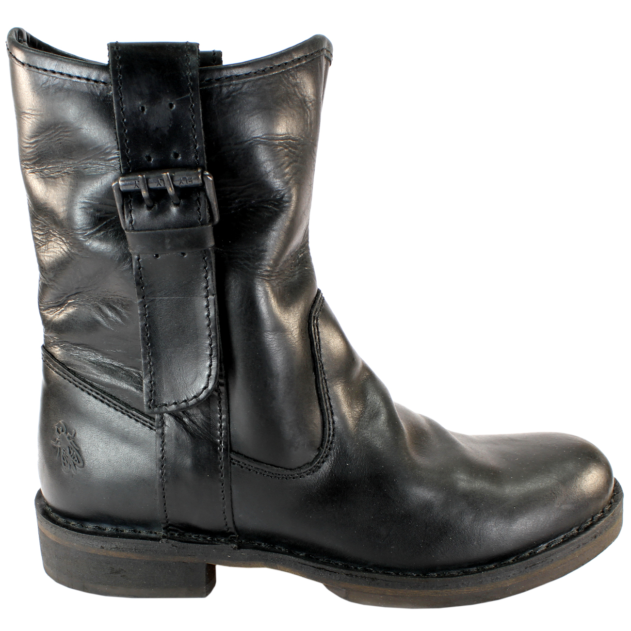 WOMENS 3 MID PULL LONDON ON BOOTS CALF FLY NOTA LEATHER LADIES vNO8n0wymP