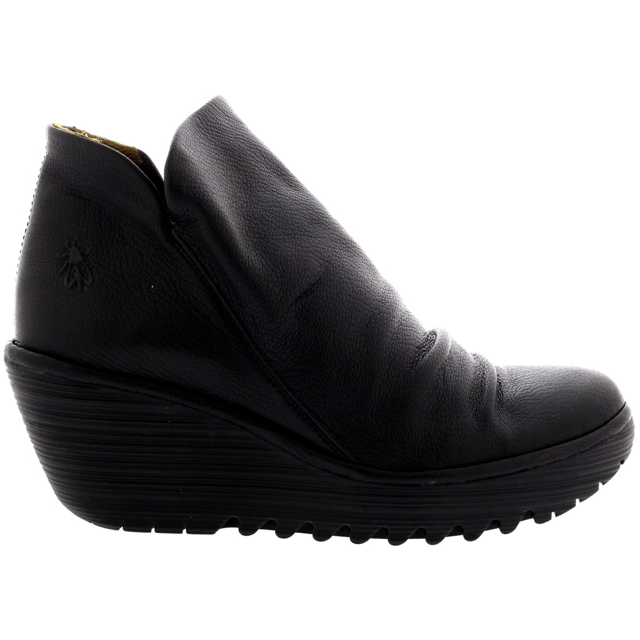 Ladies Fly London Yip Mousse Pull Wedges Casual Winter Pull Mousse On Ankle bota All Talla d64114