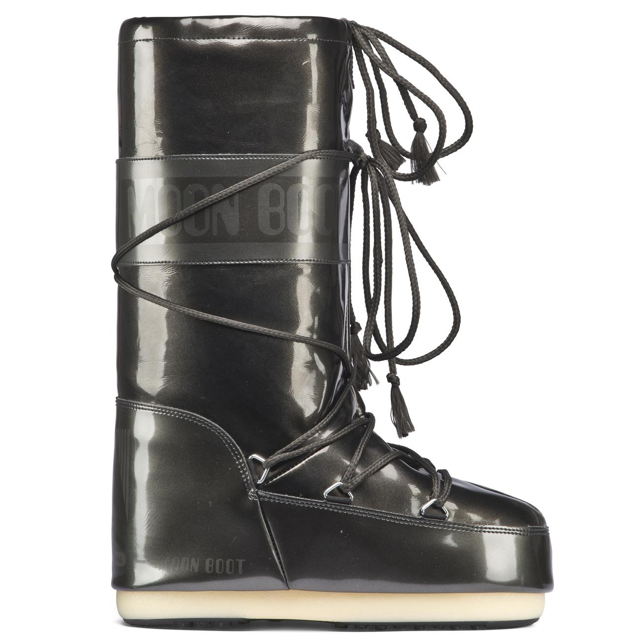 Unisex Adults Original Tecnica Moon Boot Vinil Met Nylon Nylon Nylon Padded Boots All Sizes 0313b1
