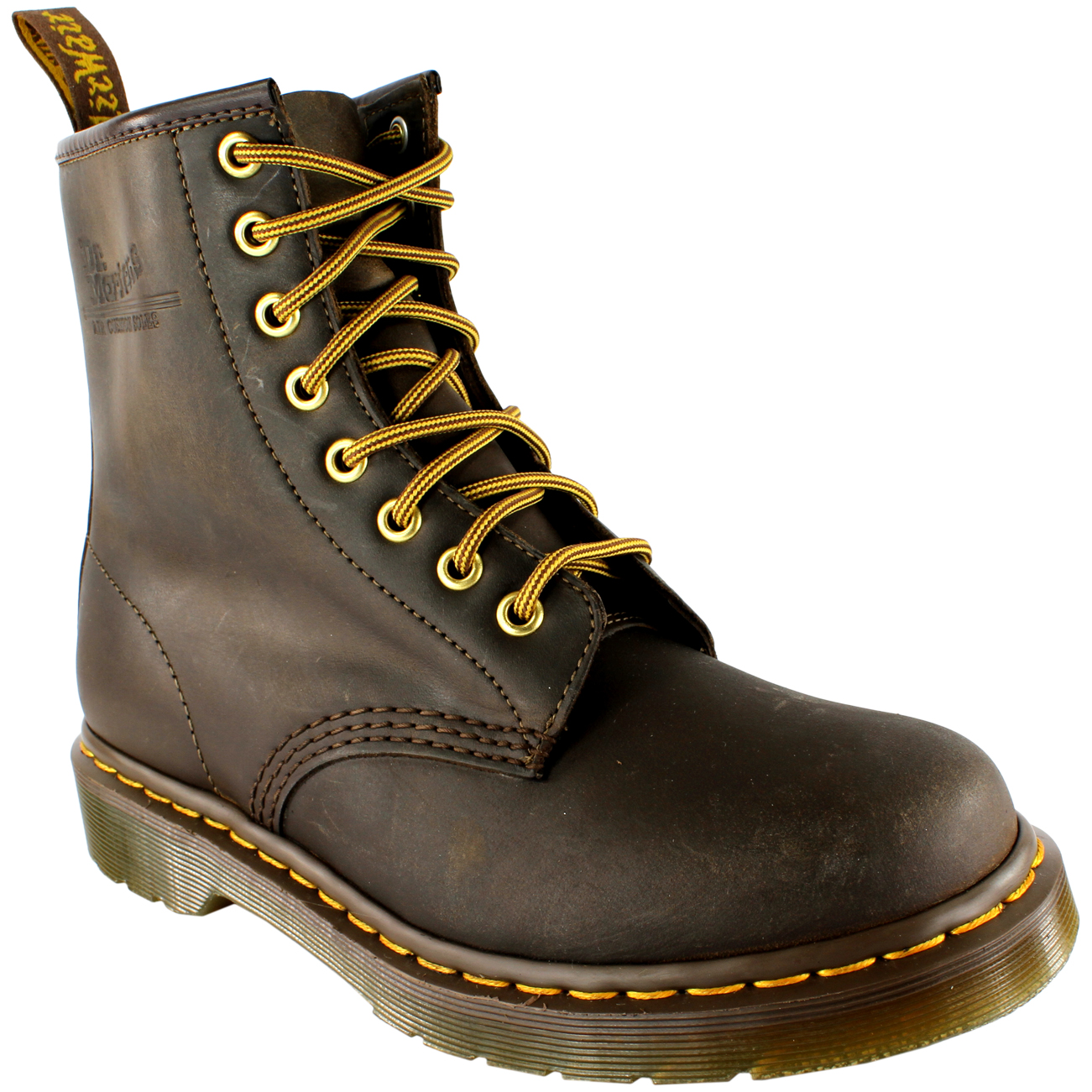 Grandes zapatos con descuento Ladies Dr Martens 1460 Classic Lace Up Leather Ankle Military Boots All Sizes