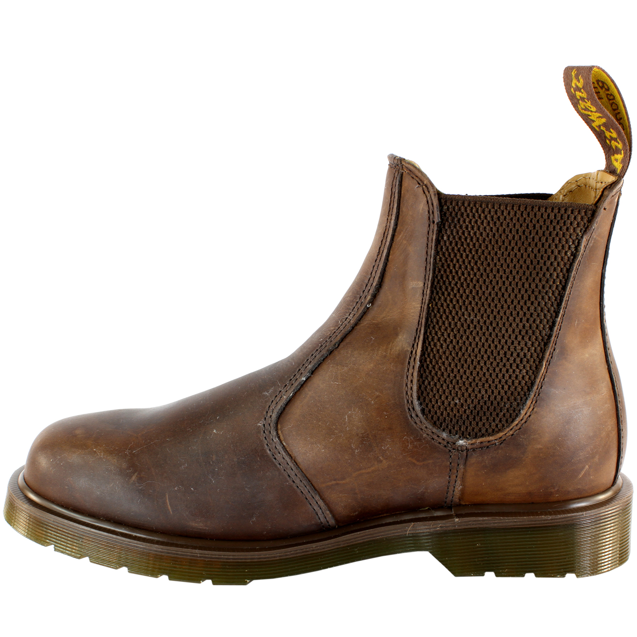 951bc28b450 Mens Dr Martens 2976 Classic Leather Chelsea Style Ankle High Boots ...