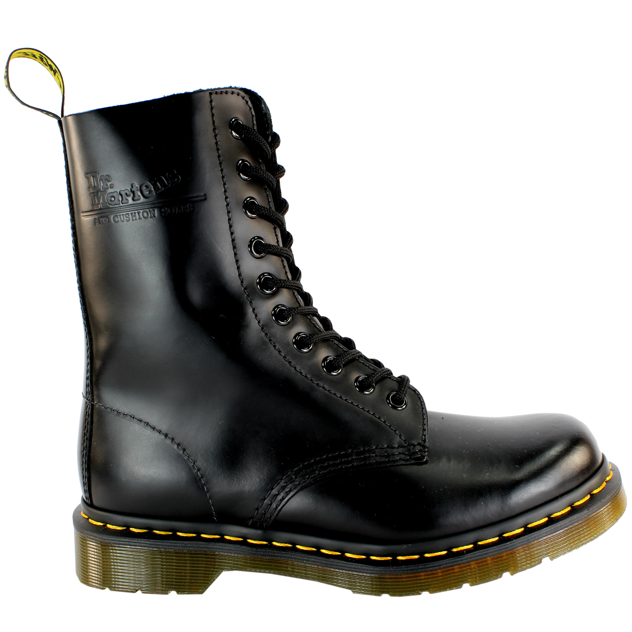8a02d7d77112 Mens Dr Martens Classic 1490 Black Vintage Leather Lace Up Ankle Boot All  Sizes