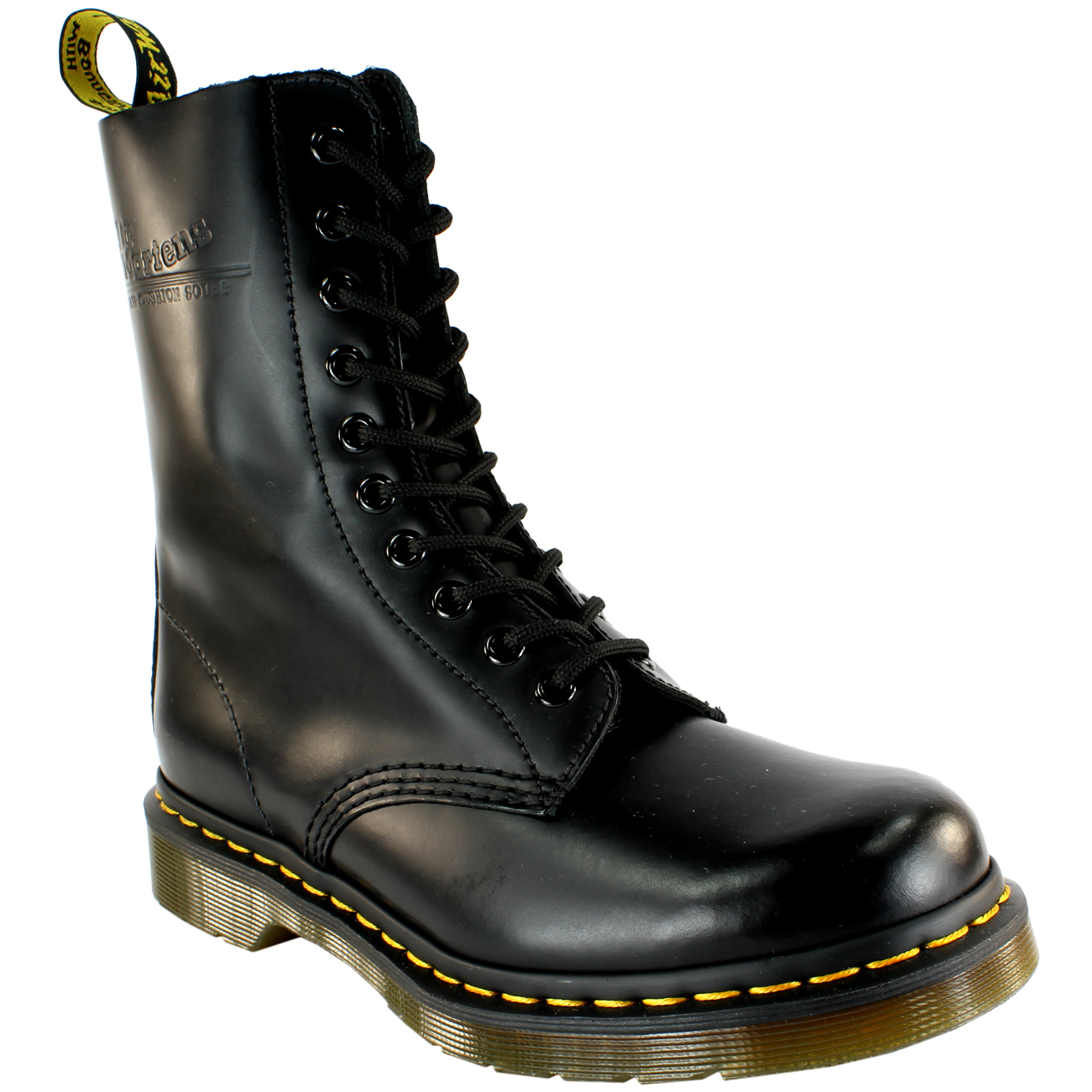 80ed7c3fa8c3 Mens Dr Martens Classic 1490 Black Vintage Leather Lace Up Ankle Boot All  Sizes