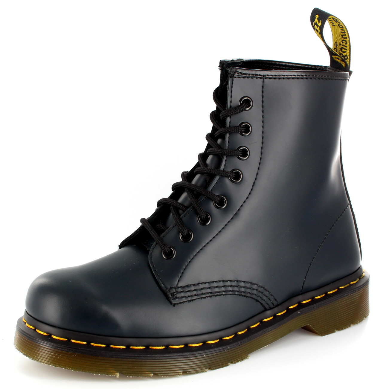Mens Dr. Martens 1460Z 8 Eyelet Eyelet Eyelet Smooth Leather Lace Up Military Boot All Sizes 742932