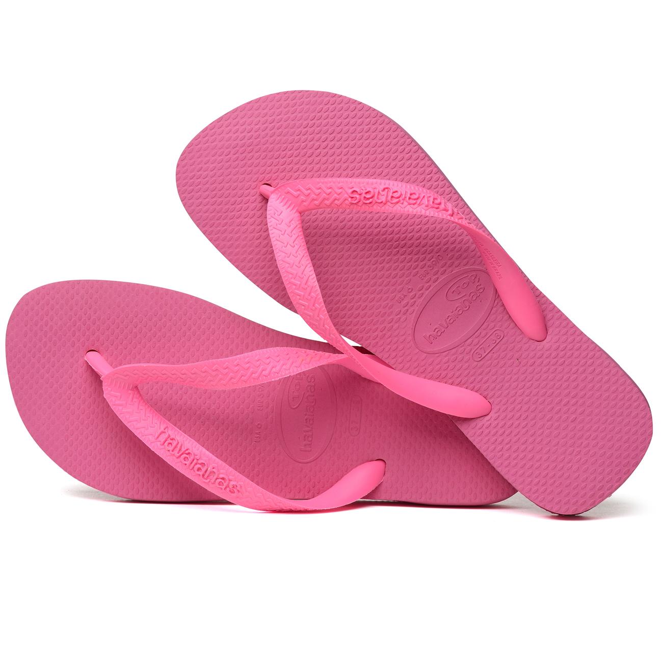 Ladies Havaianas Top Rubber Casual Slip On Sandals Brasil ...