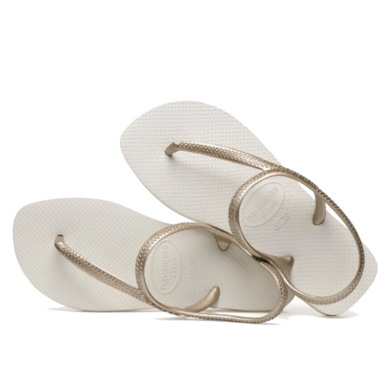 92ebca188a81 Ladies Havaianas Flash Urban Ankle Strap Holiday Toe Post Flip Flops All  Sizes