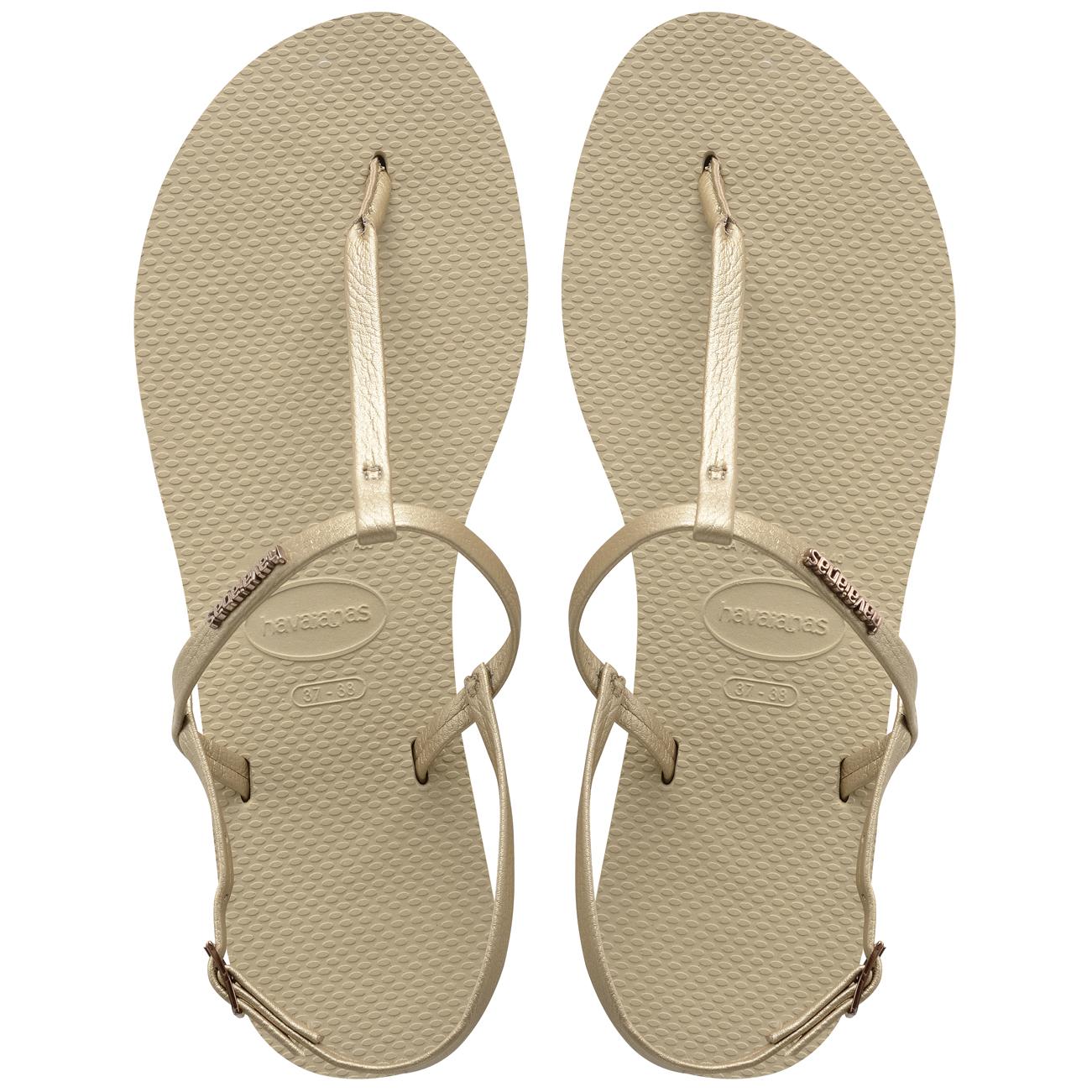 b20089d30817d Havaianas You Riviera Grape Vegan Strap Rubber Women Sandals Gold UK ...
