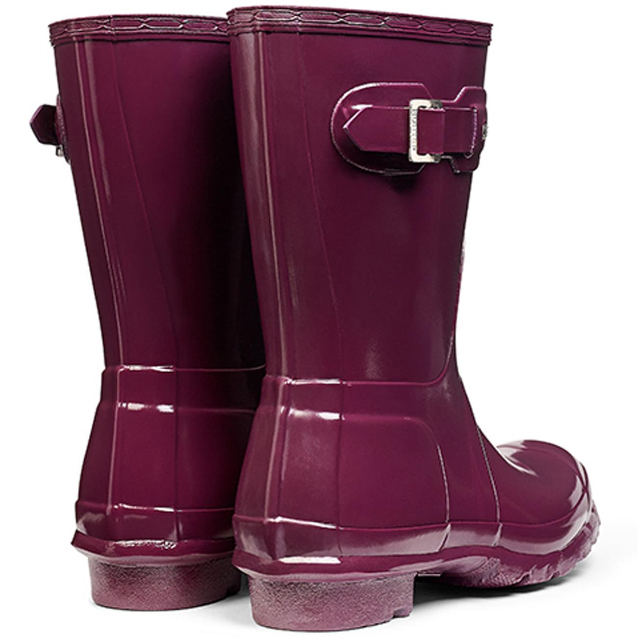 Donna Hunter Original Short Gloss Inverno Neve Pioggia Stivali in le tutte le in taglie 4cd14b