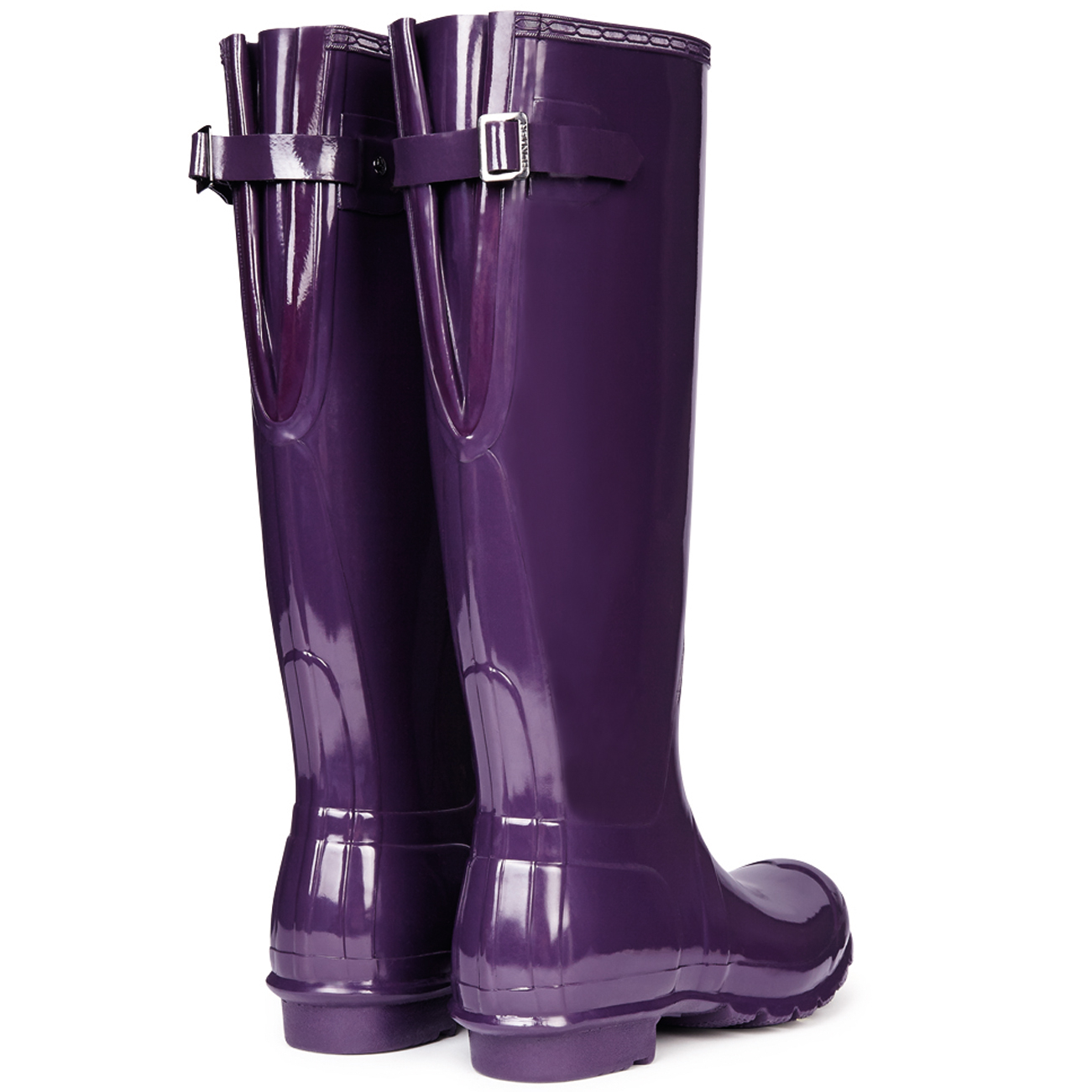 Grandes zapatos con descuento Ladies Hunter Original Tall Gloss Rain Boot Winter Festival Wellington All Sizes
