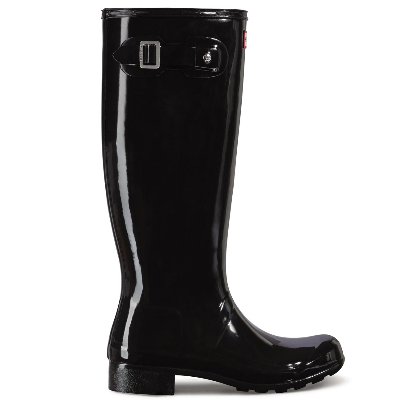 Grandes zapatos con descuento Ladies Hunter Original Tour Gloss Waterproof Festival Snow Rain Boots All Sizes