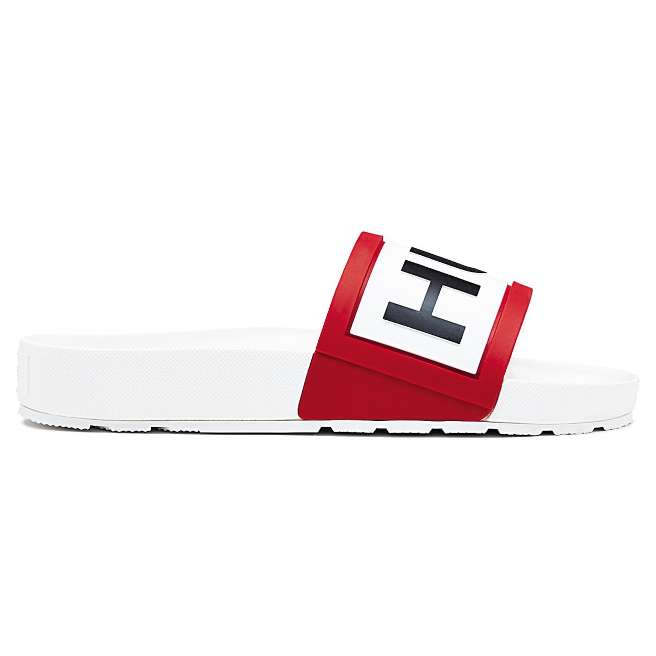 36eebfa5c Ladies Hunter Slides Beach Pool Shoes Holiday Open Toe Rubber ...