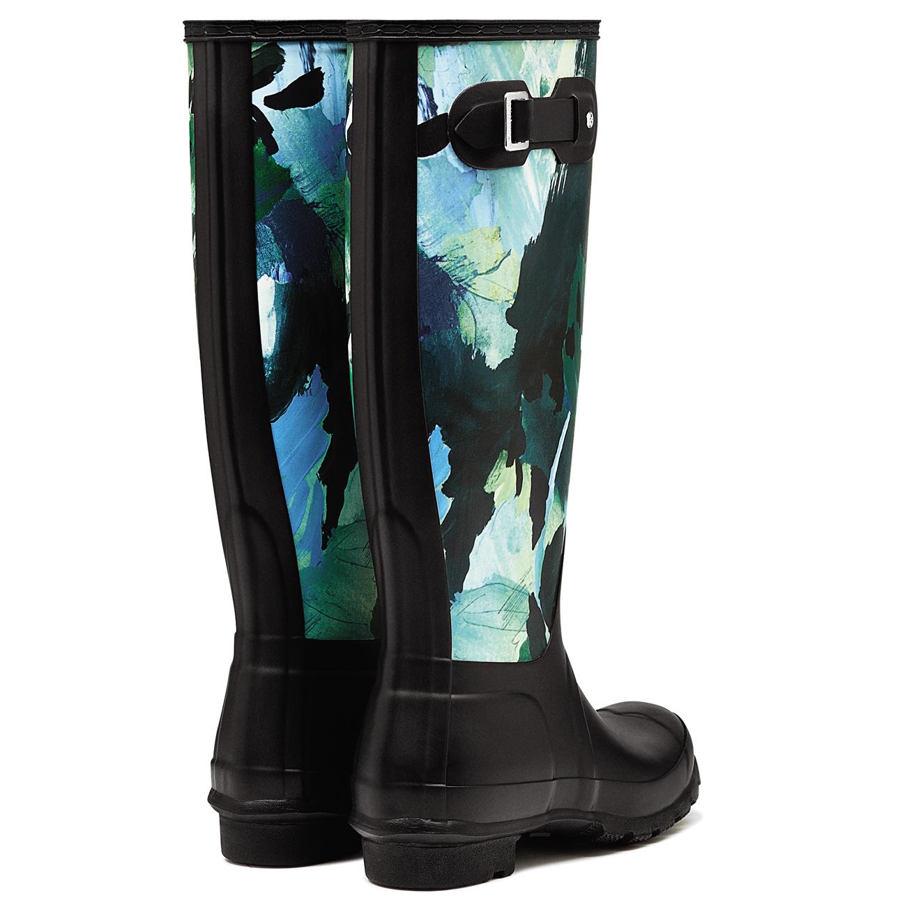 Ladies Hunter Muck Original Tall Botanical Winter Muck Hunter Galoshes Rain botas All Talla 979d9e