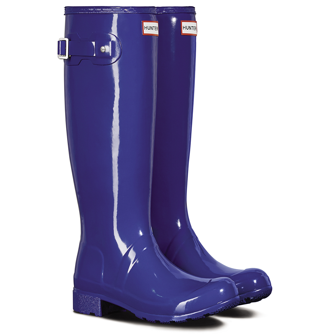 Zapatos especiales con descuento Ladies Hunter Original Tour Gloss Knee High Festival Wellingtons Boots All Sizes